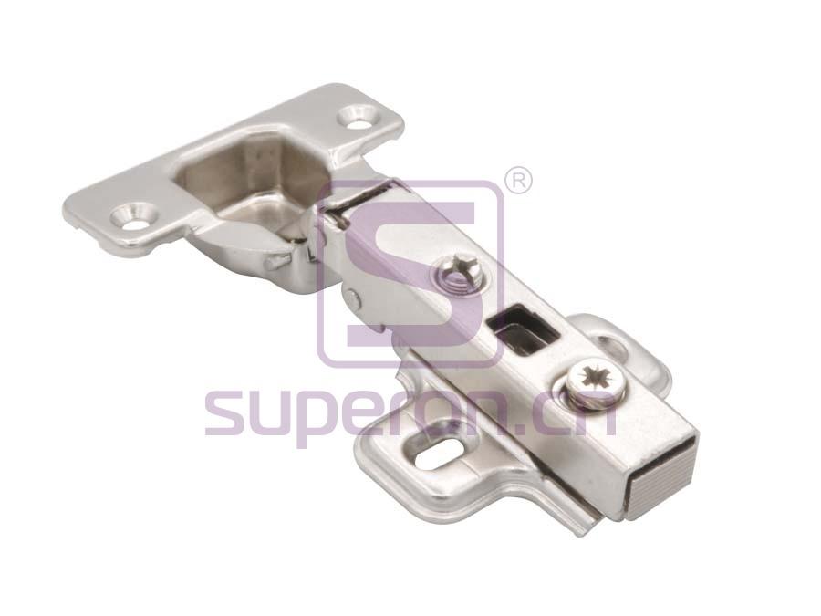 Short hinge, slide-on, d35