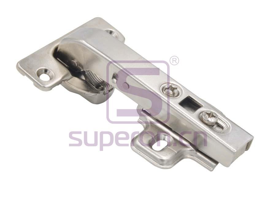 Soft-closing hinge, 90°, clip-on