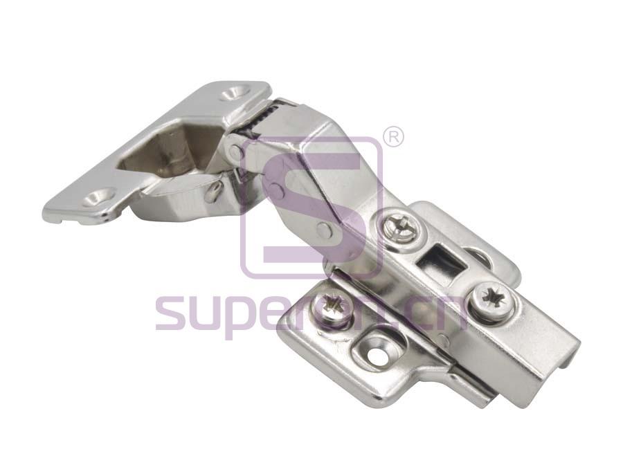 Soft-closing hinge, 30°, 3D
