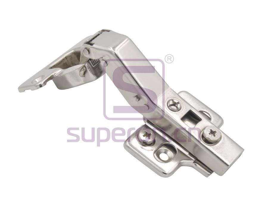 Soft-closing hinge, 45°, 3D