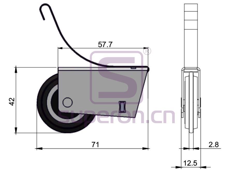 09-125-q | Roller system (asymmetric)