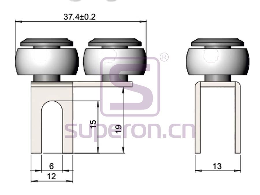 09-125-q1 | Roller system (asymmetric)
